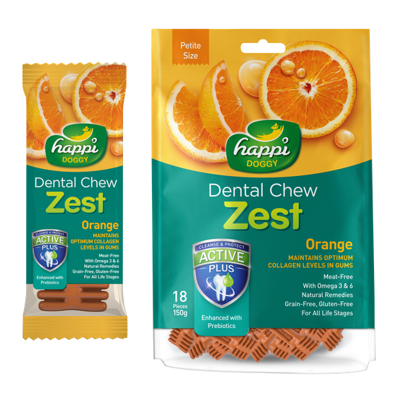 Dental Chew Zest Strawberry – Ritma